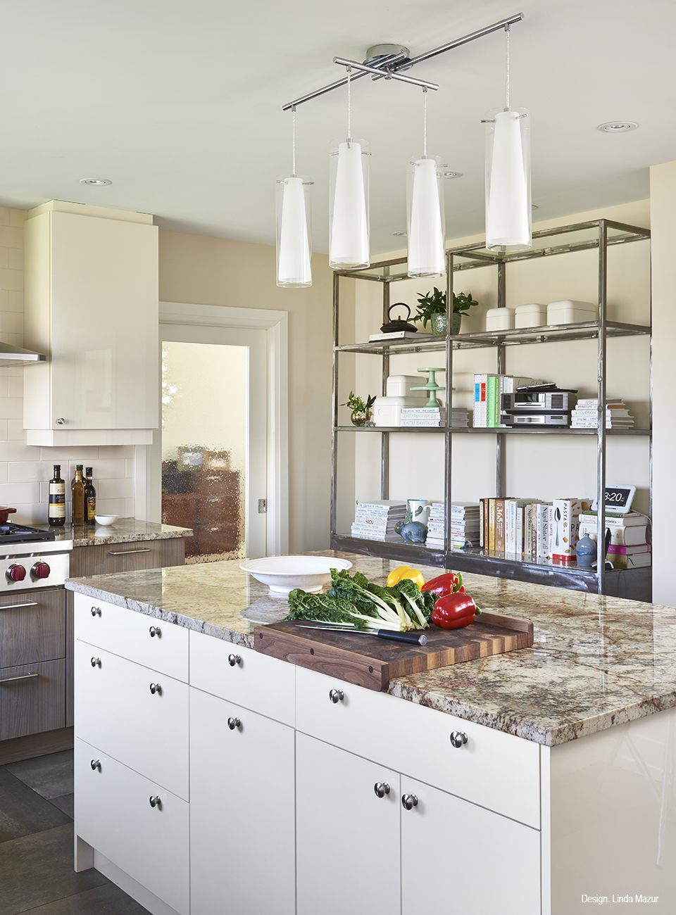 Mid Century Modern Kitchen, Kitchen Design, Linda Mazur Design Group